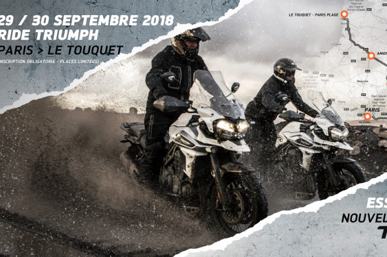 Triumph Adventure Ride, Paris / Le Touquet